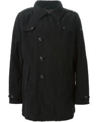 Abrigo largo negro de Armani Jeans