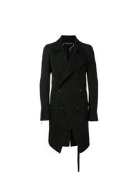 Abrigo largo negro de Cedric Jacquemyn