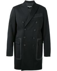 Abrigo largo negro de DSQUARED2