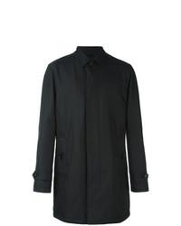 Abrigo largo negro de Ermenegildo Zegna