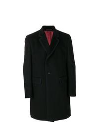 Abrigo largo negro de Gucci
