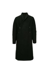 Abrigo largo negro de Julius