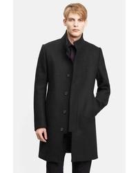 Abrigo largo negro de Kenzo