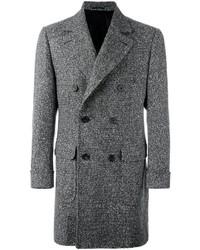 Abrigo largo negro de Kiton