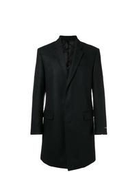 Abrigo largo negro de Les Hommes