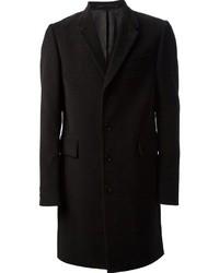 Abrigo largo negro de Paul Smith