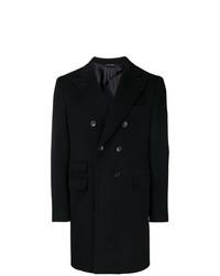 Abrigo largo negro de Tonello