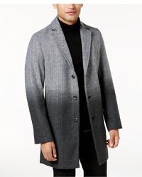Abrigo largo ombre gris