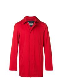 Abrigo largo rojo de Herno