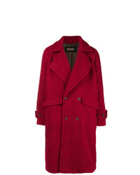 Abrigo largo rojo de Uma Wang