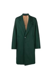 Abrigo largo verde oscuro de Barena