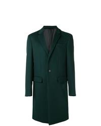 Abrigo largo verde oscuro de Joseph