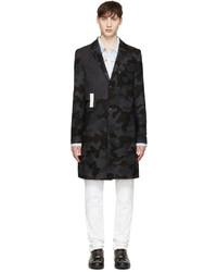 Abrigo ligero de camuflaje en gris oscuro de Pyer Moss