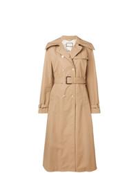Abrigo marrón claro de Gucci