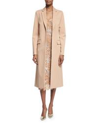 Abrigo marrón claro de Michael Kors