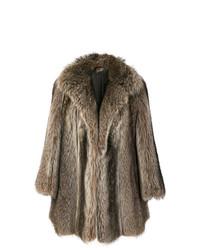 Abrigo marrón de Christian Dior Vintage