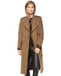 Abrigo marrón de Dagmar