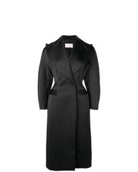 Abrigo negro de Christopher Kane