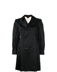Abrigo negro de Comme Des Garçons Vintage