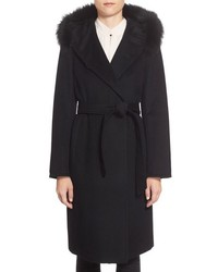 Abrigo Negro de Ellen Tracy