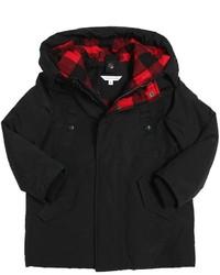 Abrigo Negro de Little Marc Jacobs