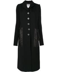 Abrigo negro de Moschino