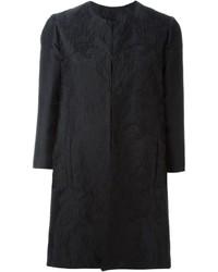 Abrigo negro de Philipp Plein