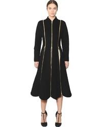 Abrigo Negro de Salvatore Ferragamo