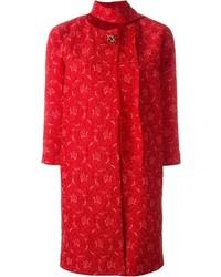 Abrigo rojo de Ermanno Scervino