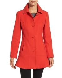 Abrigo rojo de Kate Spade