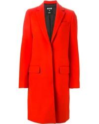 Abrigo rojo de MSGM