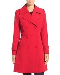 Abrigo Rojo de Trina Turk