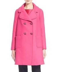 Abrigo rosa de Kate Spade
