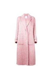 Abrigo rosado de Agnona