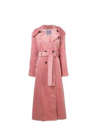 Abrigo rosado de Alexa Chung
