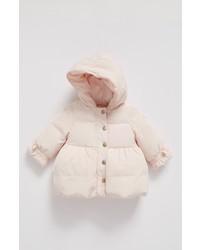 Abrigo rosado de Armani Junior