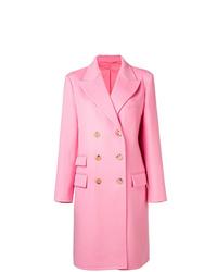 Abrigo rosado de Ermanno Scervino