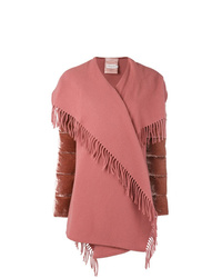 Abrigo rosado de Moncler