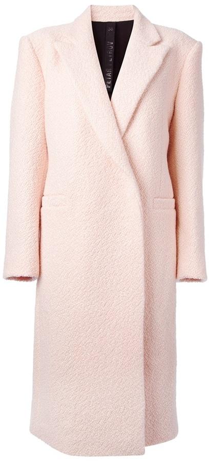 Abrigo rosado de Petar Petrov