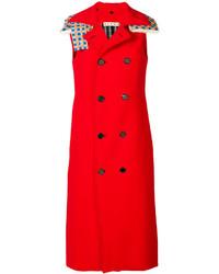 Abrigo sin mangas rojo de Marni