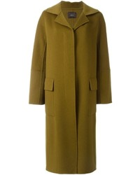 Abrigo verde oliva