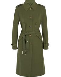 Abrigo verde oliva de Michael Kors