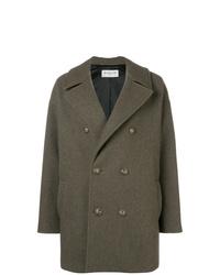 Abrigo verde oliva de Saint Laurent