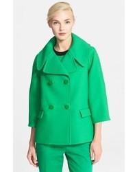 Abrigo verde de Kate Spade