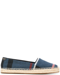 Alpargatas azules de Burberry