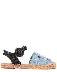 Alpargatas azules de Dolce & Gabbana