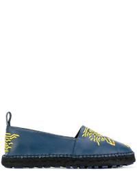 Alpargatas azules de Kenzo