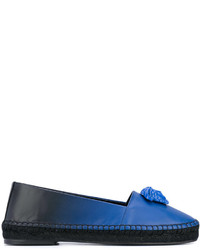 Alpargatas azules de Versace