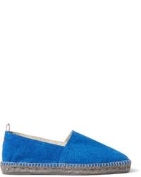 Alpargatas de lona azules de Castaner