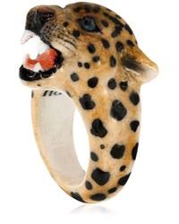 Anillo de Leopardo Marrón Claro de Nach